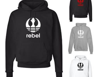 59dbdeb2e0a7 Star Wars Hoodie Rebel