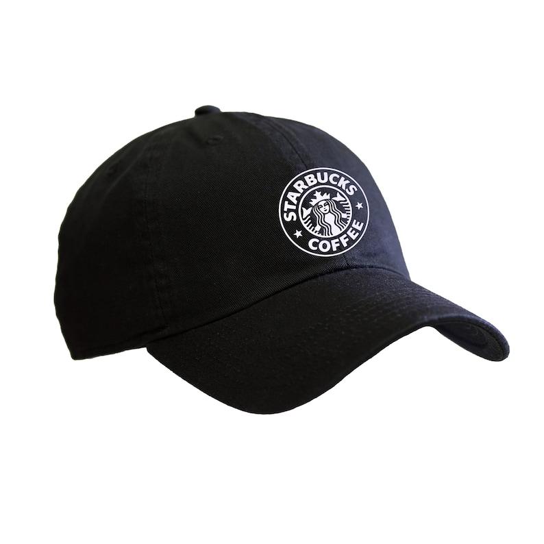 9652a8e39 Starbucks 1992 Soft Metallic Foil Design Baseball Cap | Etsy