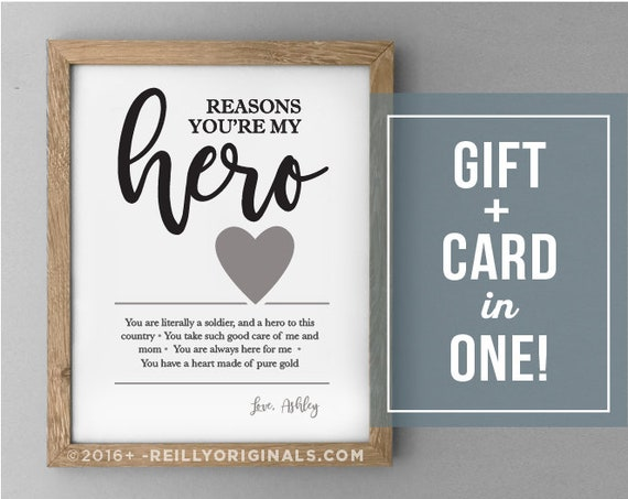 Personalized Valentines Day Birthday Fathers Gift