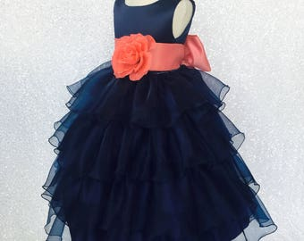 21b04f8ae Navy girls dress