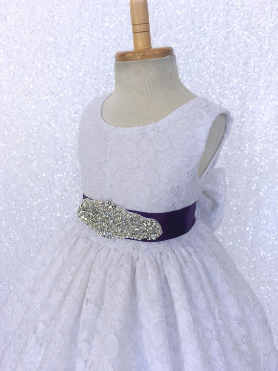 Elegant Rustic Sleeveless French Lace Burgundy Gown Crystal Silver Ribbon Spring Summer Junior Toddler Infant Birthday Pageant Graduation