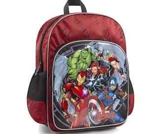 98ae6010816e Marvel kids backpack | Etsy