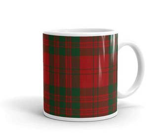 Livingstone Scottish Clan Tartan Rubber Drink Coaster