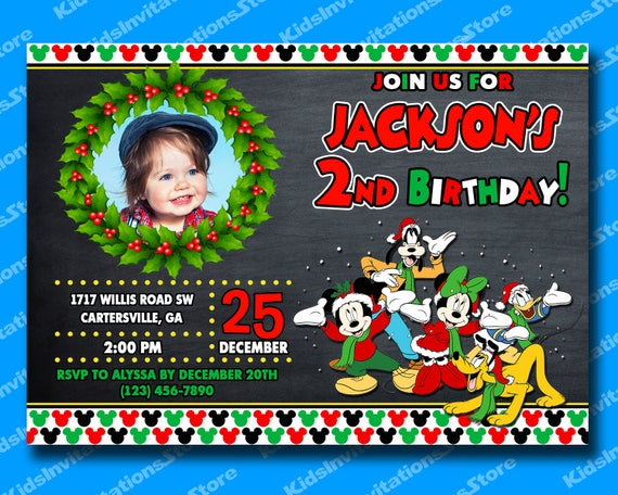 image 0 - Mickey Mouse Clubhouse Christmas