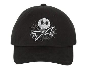 4a9aa8b74ad jack Skellington Embroidered Halloween