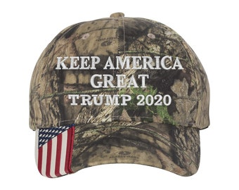 MAGA Hat - Keep America Great Trump Oak Camo 85e47419347b