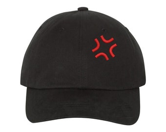 57ae478c142 Angry Anime Dad Hat
