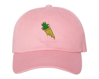 e2ba59bae74fe Pineapple Belongs On Pizza - Pizza Dad Hat