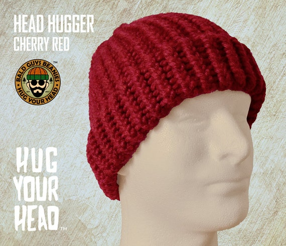 2a22fa45c Red Beanie, Mens Red Knit Hat for Dad, Red Knit Beanie, Fathers Day Mens  Knit Caps, Mens Beanie, Knit Cap, Red Beanies Men, Red Beanie Hat