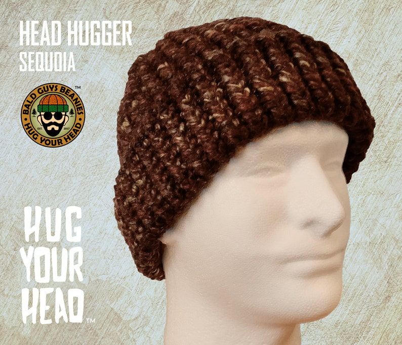feb049a5fba Knit Beanie Hat Rust Beanie Mens Sequoia Brown Beanie Hand