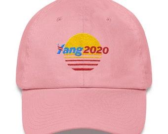 YANG 2020 - PINK Meme Hat - Retro 46941b6aa48e