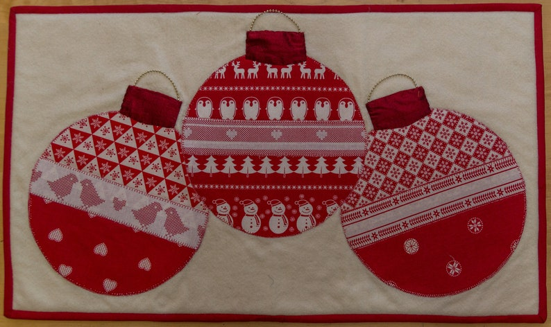 Christmas Table Runner Uk.Hand Made Christmas Table Runner Free Uk P P
