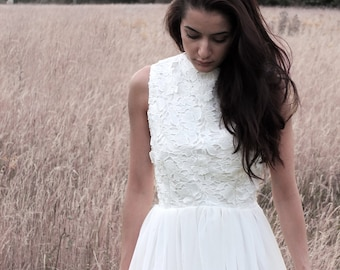 Rustic Wedding Dress Etsy