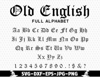 English alphabet etsy old english monogram alphabet svg font gothic fontfont alphabet cuttable svg dxf png jpg eps silhouette studio cricut cameo altavistaventures
