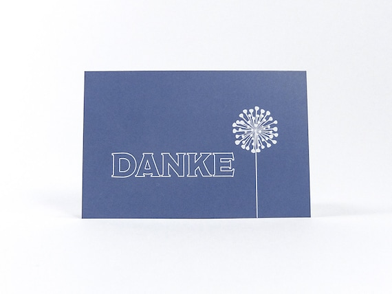 Simple Pigeons Blue Mini Thank You Cards Business Card Size