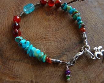 Bracelet with Om Charm