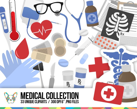 medical clipart collection doctor clipart health clipart etsy rh etsy com medical cliparts free download medical cliparts free download