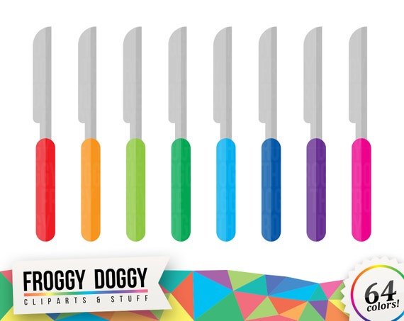 Knife Clipart Kitchen Clipart Food Clipart Cutlery Clipart Planner Clipart Scrapbooking Cliparts