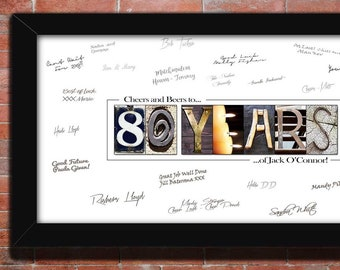 80th Birthday Gift