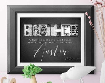 Graduation gift for brother | Etsy