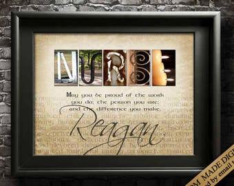 NURSE GIFT Nurse Appreciation Nurse Gifts Personalized Nurse Gift Ideas Gift for Nurses Gift for Nurse Practitioner Nursing Gifts PRINTABLE