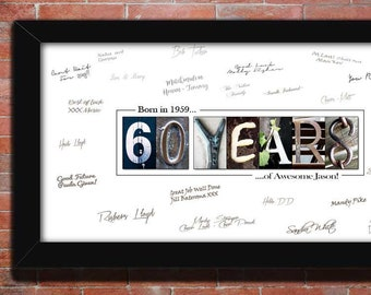 60th Birthday Gift For Men Decoration Dad Party