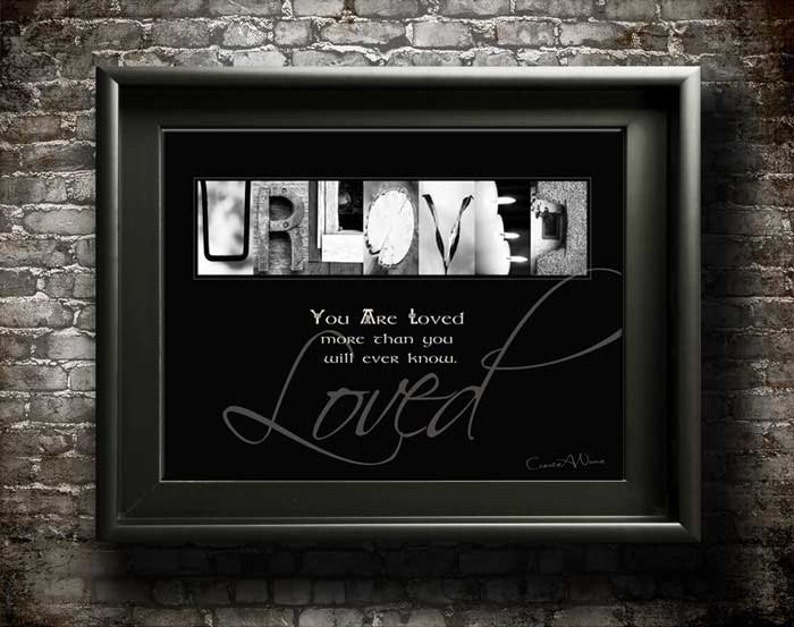 You Are Loved Digital Inspiring Quotes Mom Dad Brother Etsy