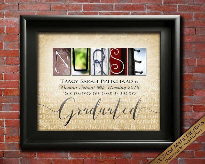 image 0 ... & Gift for NURSE graduation Gift for Nurse graduate gifts nurse | Etsy