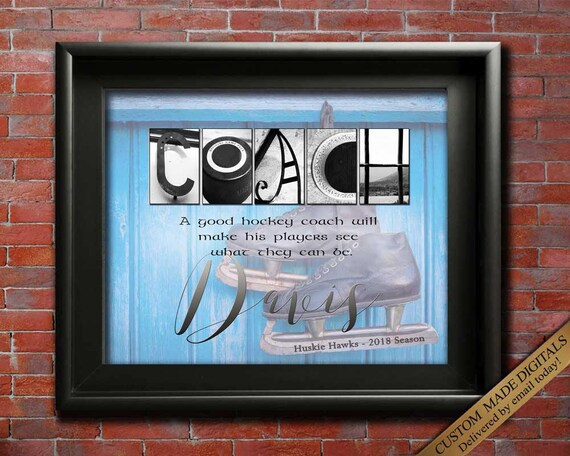 Coach gift Hockey coach Coaches gifts Hockey Hockey mom Hockey team Hockey coach gifts Hockey player All Stars
