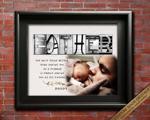 Gift For Father Daughter Photo Son New