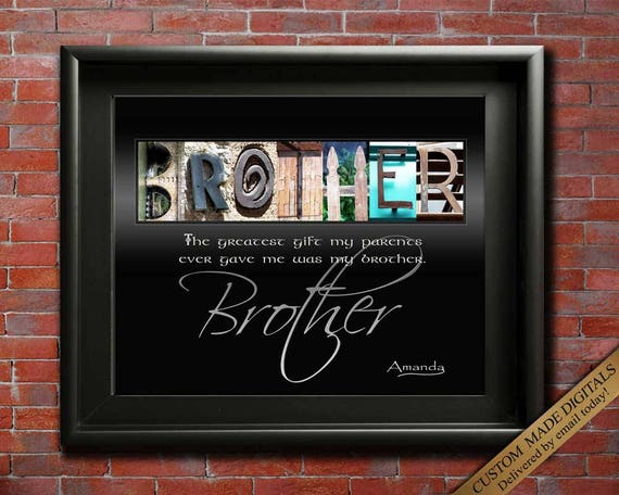 Brother Wedding Gift: Brother Gift For Brother Wedding Gift For Brothers