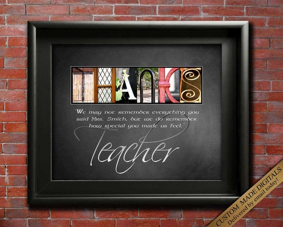 thank you teacher gift for teacher teacher thanks quotes