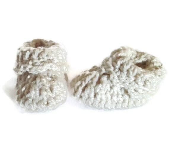 09128a860b2f Crochet Baby Booties  Handmade Booties  Newborn Baby