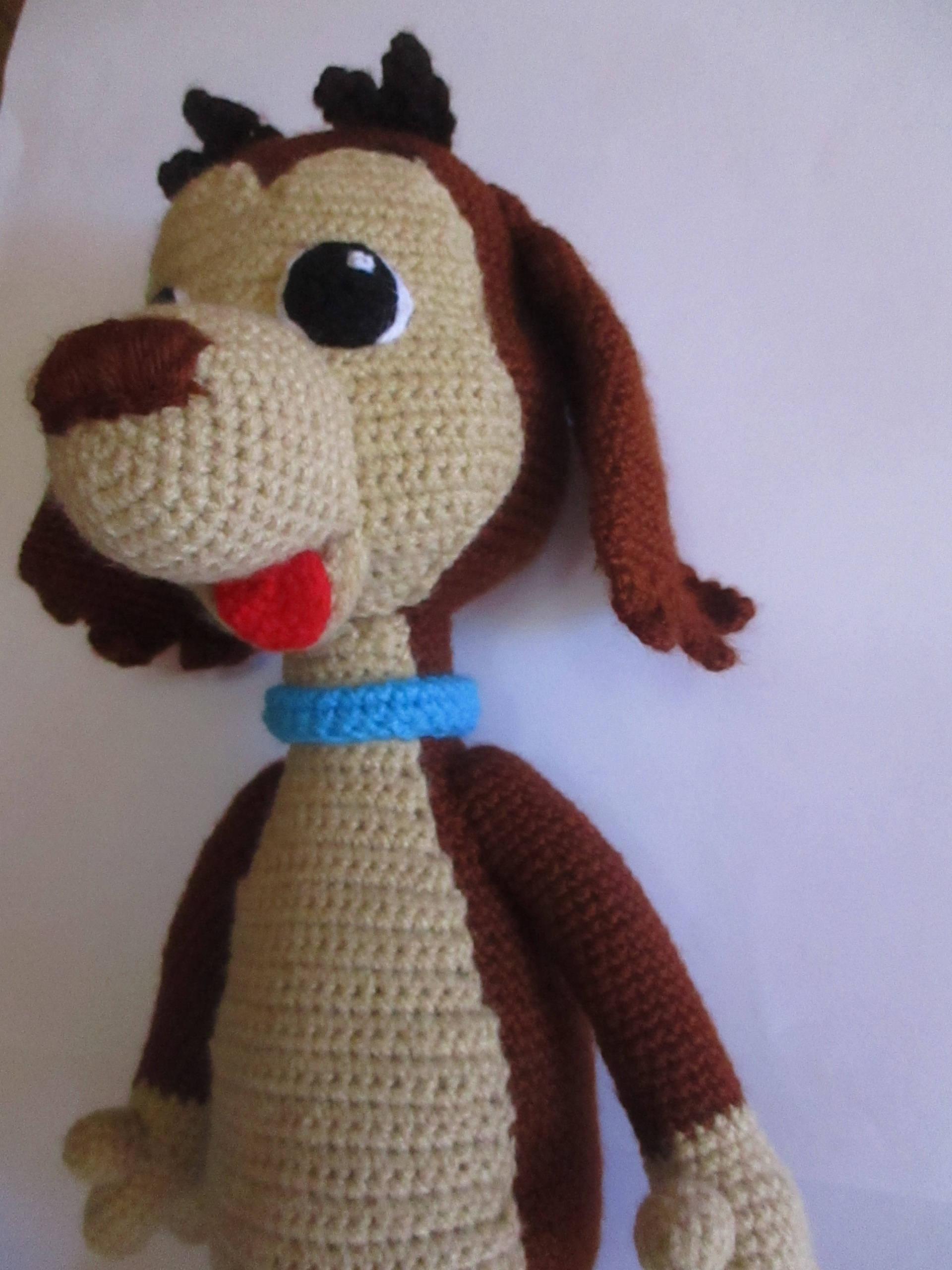 Excepcional Cachorro De Crochet Patrón De Sombrero Del Perro Galería ...