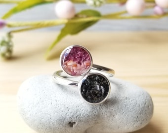 Alpenglow Alaska Sterling Silver Ring