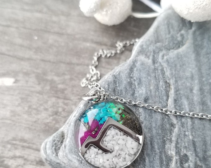 Featured listing image: Northern Lights Necklace, North Pole, Alaska
