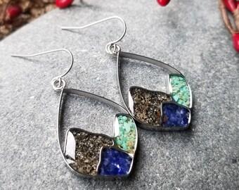Homer, Alaska Mountain Range Earrings