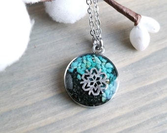 Girdwood, Alaska Necklace, Stainless Steel