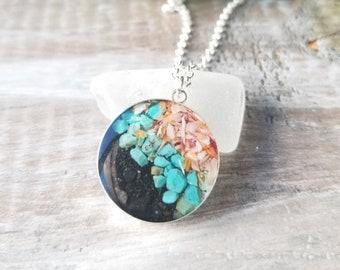 Ketchikan, Alaska Sterling Silver Necklace