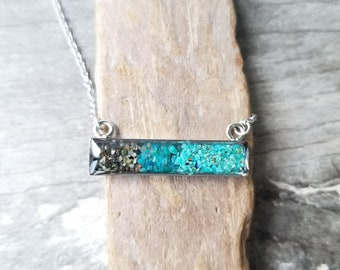 Deception Pass, Washington, Stainless Steel Necklace