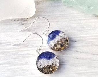 Skagway, Alaska, Sterling Silver Drop Earring