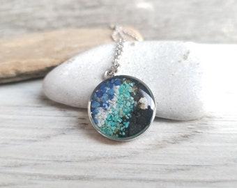 Ketchikan, Alaska, Necklace in Stainless Steel