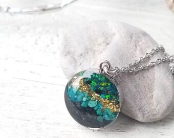Alaska Necklace, Sand or Glacier Silt