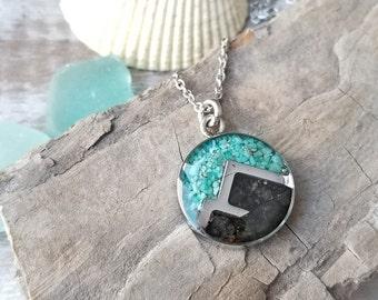 Alaska Mountain Necklace