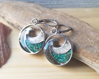 Alaska Sand Wave Earrings