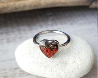 Heart of Anchorage, Alaska Ring