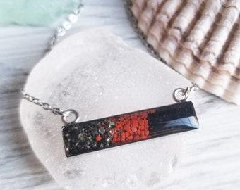 Homer, Alaska Necklace, Stainless Steel