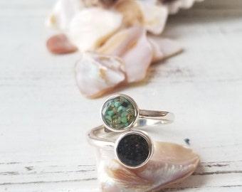 Nome, Alaska Sterling Ring (Size 6)