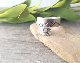 Alaska Mountain Ring, Adjustable