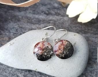 Seward, Alaska  Sterling Dangle Earrings